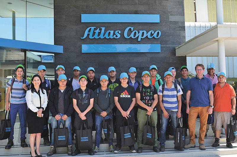AtlasCopco_LiceoIgnacioDome